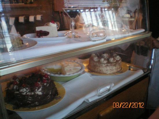 Elizabeth's Chalet Restaurants: dessert tray