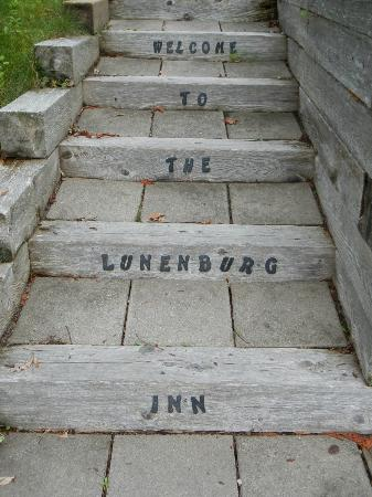 Lunenburg Inn: Back Stairs