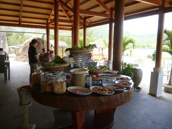 An Lam Ninh Van Bay Villas : Buffet