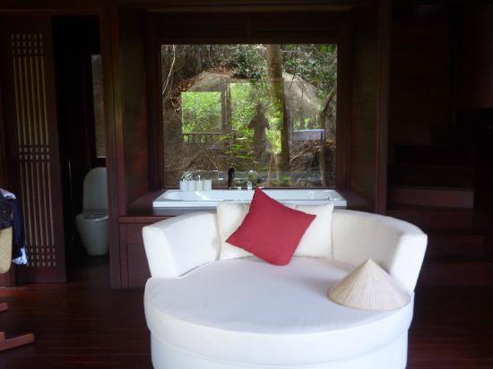 An Lam Ninh Van Bay Villas : Badezimmer