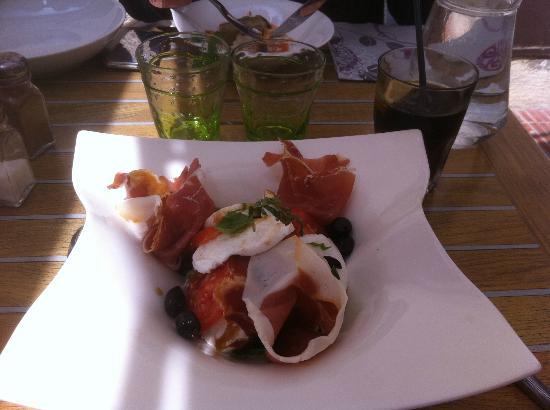 L'assiette des Saveurs : Salade Italienne en entrée