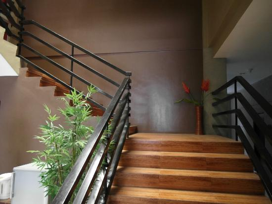 North Zen Basic Spaces: stair case to upper floor