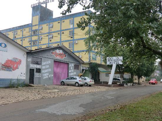 Rolim Rios Hotel: das Hotel von außen