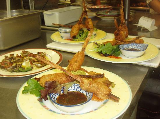 Back Eddy Bistro: Shrip Lolipops
