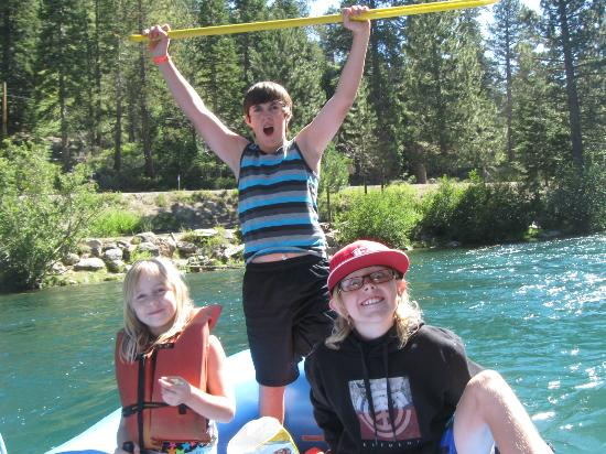 Truckee River Raft Company: teen and young grandchildren loved it
