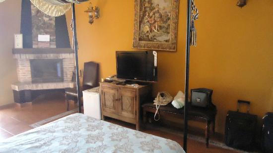 Hospederia Rural Ballesteros: La habitación