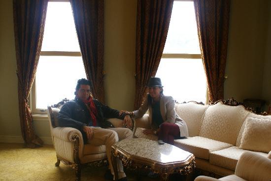 Bosphorus Palace Hotel: vestibulo