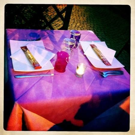 Fahrenheit: tavolo all'aperto