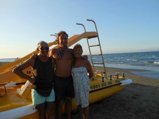 Guerrino, Andrea et sa maman Nadia - Foto di Pedra Del Sol, Riccione ...