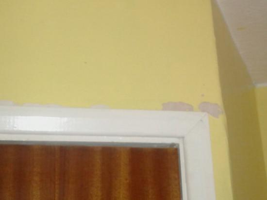 Cherry Lodge Guest House: Missing plaster