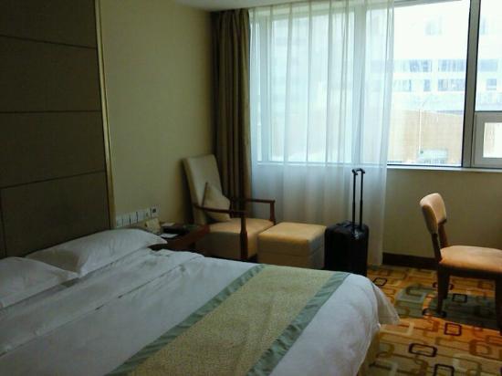 Zhong Tai Lai Hotel: 景色はよくないけれど明るいのがとりえ