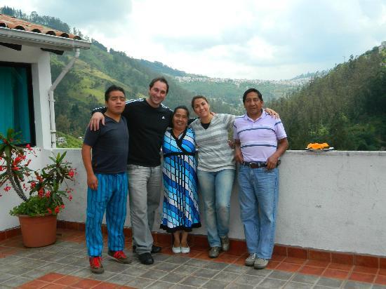 Hostal Guapulo Inti: Familia
