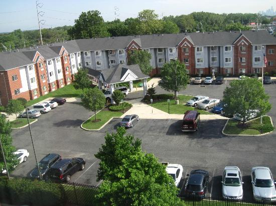 Hampton Inn Philadelphia-International Airport: View of the hotel next door from room 601