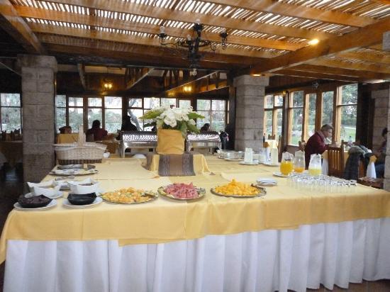 San Agustin Urubamba Hotel: El desayuno generoso.