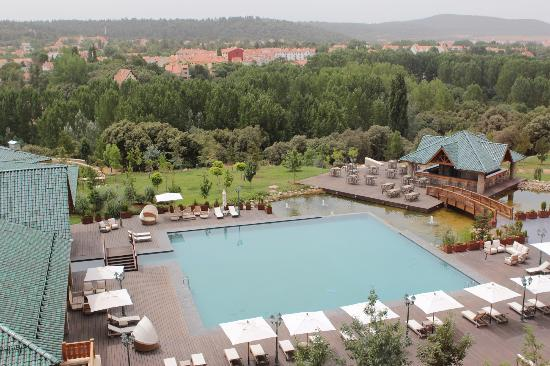 Michlifen Ifrane Suites & Spa : stunning view