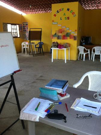 Latin American Spanish School : Our classroom