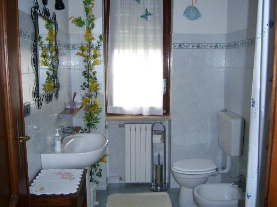 B&B Mimosa: Toilette