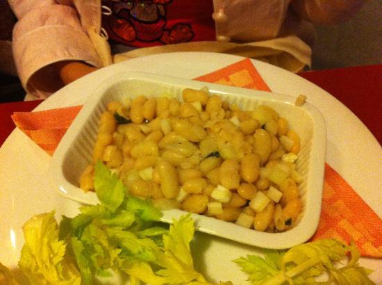 La Briciola: un'insalata di fagioli