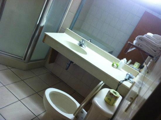 Crystal Beach Hotel: bathroom