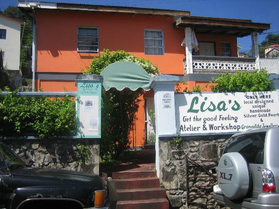 Lisa's Ltd: Lisa's Atelier and workshop in H.A.Blaize Street St. George's