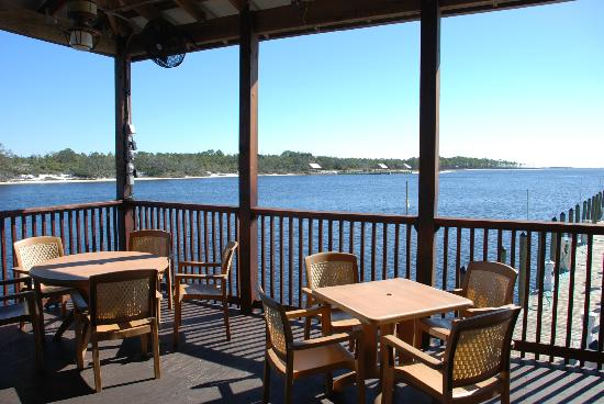 Perdido Key Oyster Bar Restaurant: our view - awesome