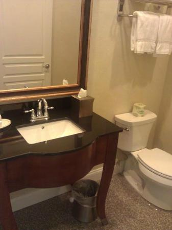Federal Pointe Inn, an Ascend Hotel Collection Member: Nice Bathroom Fixtures and Marble Floor