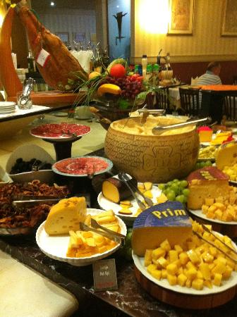 Jardineira Grill : A part of the buffet
