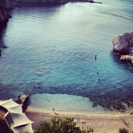 Hotel Bellevue Dubrovnik: view from our room!