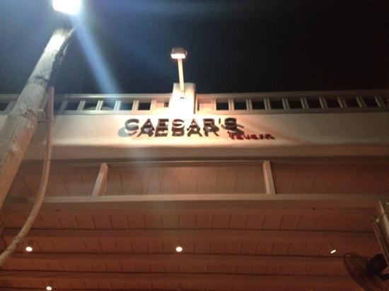 Caesar's: restaurant