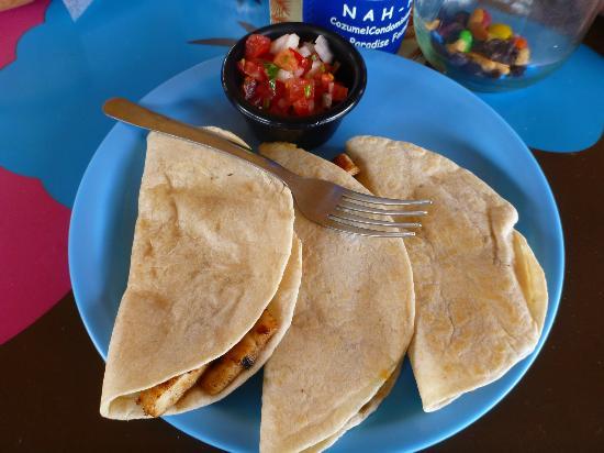 Tikila Bar: Chicken quesadillas at $9