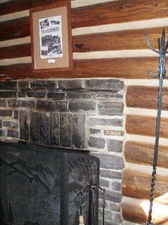 Storm Mountain Lodge & Cabins: fireplace