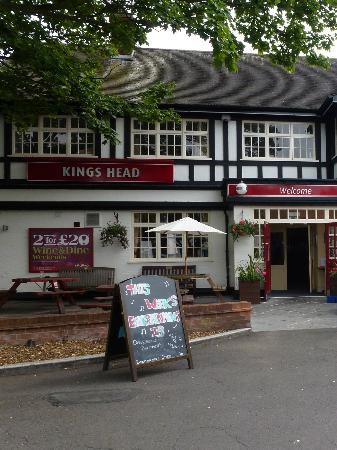 The Kings Head: Front (left side)