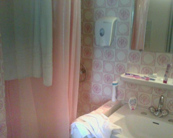 Hotel Abacus : salle de bain