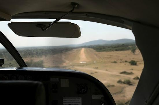 Mara Ngenche Safari Camp: landing strip