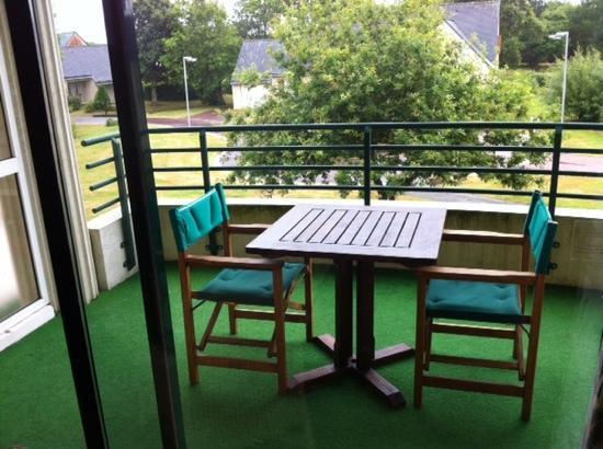 Suite & Green Golf de La Baule : balcon .
