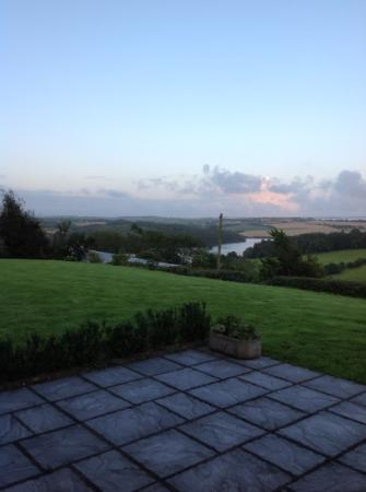 Ballinadee, Ireland: view from the patio