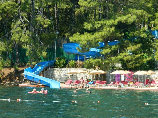View From Hotel Picture Of Marmaris Park Hotel Icmeler