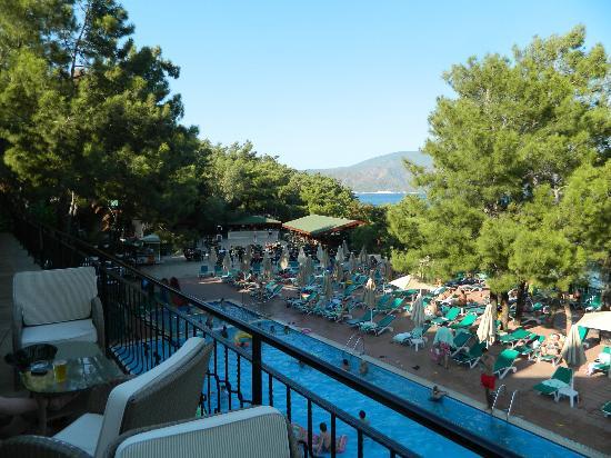 Marmaris Park: pool area