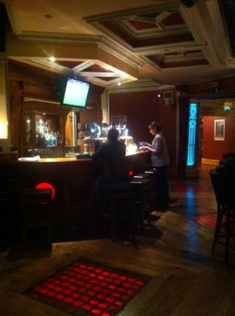 The Prince of Wales Hotel: the bar