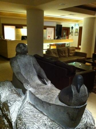 The Prince of Wales Hotel: reception