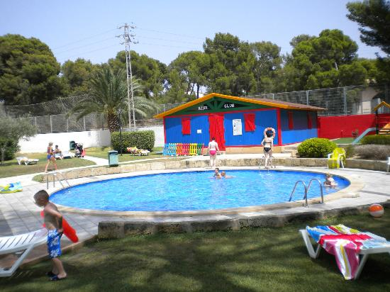 BQ Belvedere Hotel: Kiddies pool, club and playground