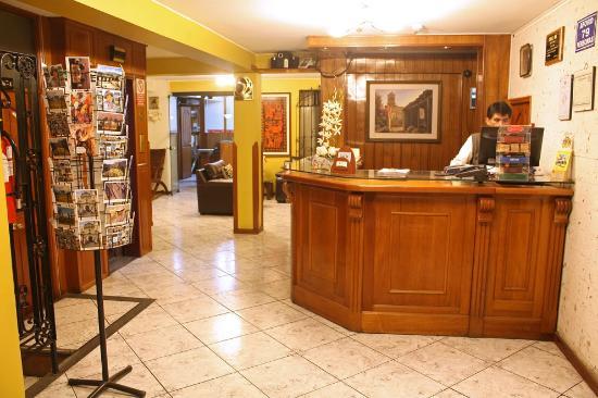 Hotel Samana Arequipa: Ingreso del Hotel