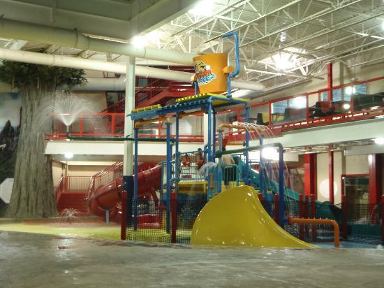 Triple Play Family Fun Park: Toddler area