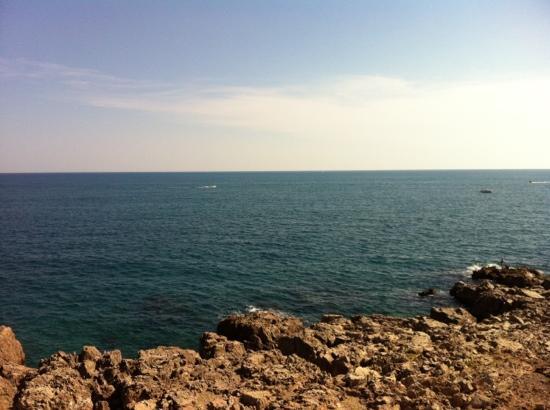 Residence Cap Corniche: vue de la terrasse