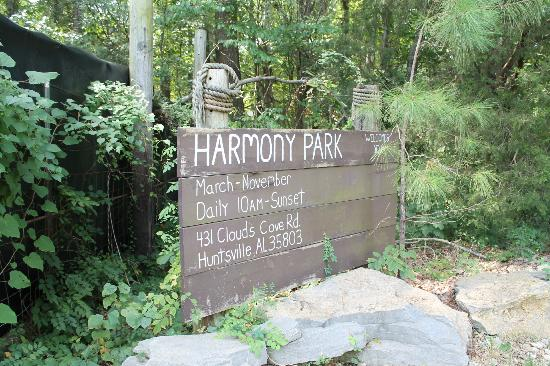 Huntsville, AL: Harmony Safari Park (take cash)