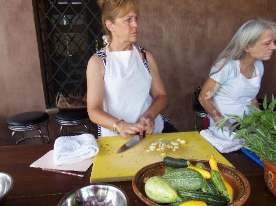 Organic Restaurant at Huerta Los Tamarindos: cooking class