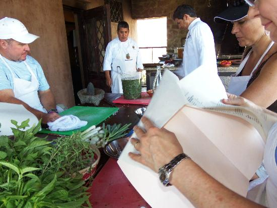 Organic Restaurant at Huerta Los Tamarindos: cooking class