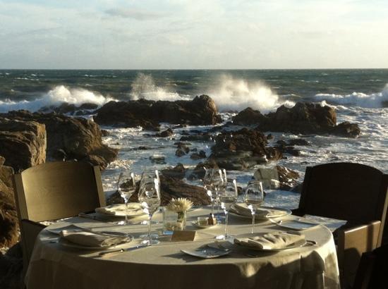 Le Croisic, France : la table sur l'océan