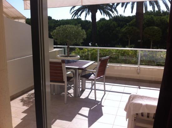 Hotel Juana : terrasse ch 103
