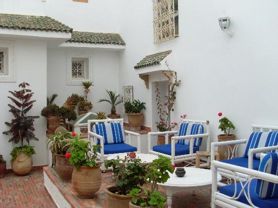 Dar Ness : Terrace area on 2nd floor